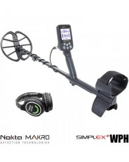 Металлоискатель NoktaMakro Simplex Plus WHP