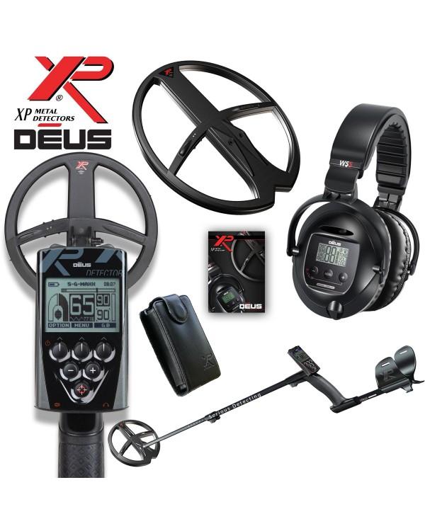 Металлоискатель XP Deus (катушка HF 22 см, блок, наушники WS4)