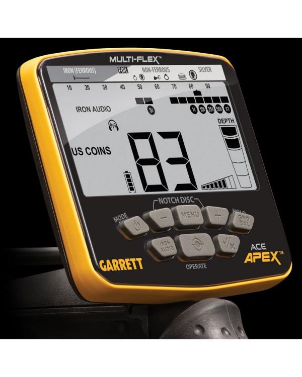 Металлоискатель Garrett ACE Apex (катушка 8,5х11)